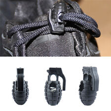 4Pcs Hand Grenade Shaped Shoe Lace Clip Shoelace Buckle Antiskid Rope Clamp Lock