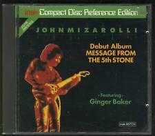 JOHN MIZAROLLI Message From The 5th Stone REF ED CD GINGER BAKER VICKI BROWN
