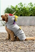 Next Wags & Whiskers Grey Unicorn Dog dress up Jumper Size Medium NEW