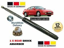Rear Right Shock Absorber FOR TOYOTA MR 2 ZZW3 1.8 00-/>07 Convertible Excel-G