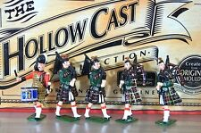BRITAINS 41003 CAMERON HIGHLANDERS BAND SET 3 HOLLOWCAST MINT BOXED ne