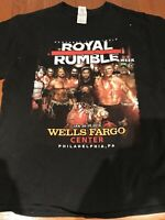 wwf wwe royal rumble t shirt mens sz L Hulk Hogan Ric Flair Vtg