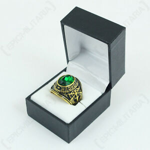 US Service Ring- Special Forces - Military American Mens Green All Sizes New