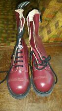 Gladiator 10i ranger boots cherry oxblood steeltoe UK7US8 skinhead punk gay UK