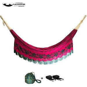 Ingalex Handmade hammock superior quality in threads and style weather resistant