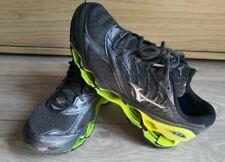 MIZUNO Wave Prophecy 8 Grey Neon Running Trainers Shoes UK 8 EU 42