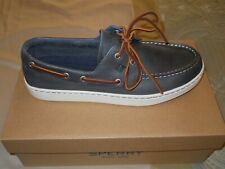 Sperry Top-Sider Cup II Boat Shoes Navy Men's 10 NIB