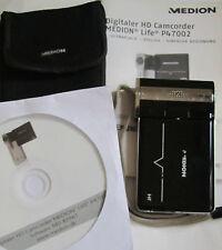 Fotocamera / Videocamera / MP3 Player Digitale HD Medion P47002 MD85961 + SD 2GB