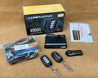 NEW Compustar CS4900S 2-Way Remote Start System w/ 4 Button Remotes