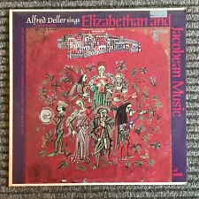 Alfred Deller sings Elizabethan and Jacobean Music Dupre Leonhardt Vanguard