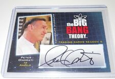 The Big Bang Theory Autograph Trading Card Peter Onorati as Angelo A17 Season 5