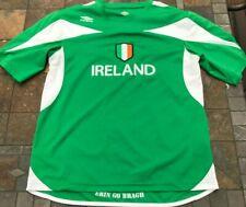 Vintage Umbro IrelanD erin Go Bragh Soccer Jersey Adult Medium