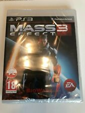 Mass Effect 3 Sony PlayStation 3, 2012 New Factory Sealed PS3