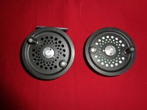 """Orvis 4"""" The Spey Salmon Fly Reel & Spare Spool."""