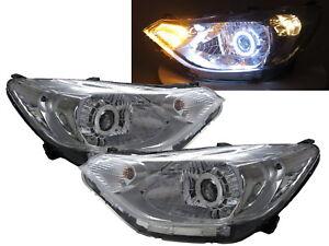 Sail MK3 15-present 4D CCFL Projector Headlight Chrome for CHEVROLET CHEVY RHD