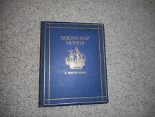 Sailing Ship Models European / American R. Morton Nance limited ed. 1924