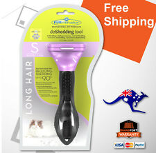 FURminator for Small Cats Long Hair deShedding Brush Comb Aus Authorised Dealer