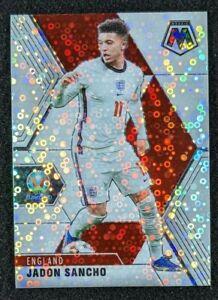 2021 Panini Mosaic UEFA Euros Jadon Sancho White Circles 10/25 England