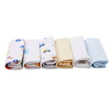 Reusable Newborn Face Washers Hand Towel Cotton Feeding Wipe Wash Cloth WS