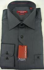 Gestreifte klassische Herrenhemden mit Sportmanschette CASAMODA