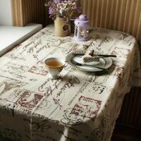 Dining Table Cover Mantel de comedor de decoración Mantel resistente al calor