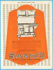 1921 American Range & Foundry Chicago IL Sanico Porcelain Stove Kitchen Décor Ad photo