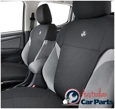 HOLDEN Colorado RG Front & rear Seat Neoprene Covers LTZ Genuine New 2012-2015