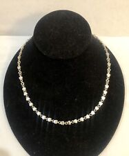 Tiffany & Co Silver Hearts Link Necklace