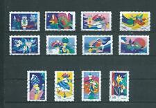 Nouveauté 2020 les 12 timbres du Carnet - NOEL SPECTACULAIRE oblitérés
