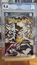 BATMAN #21 VARIANT SKETCH COVER CGC 9.6