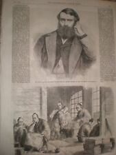 Edinburgh University Profesor David Masson & Prince Nagato Japón 1865 Print