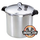 Presto 23-Qt Induction Pressure Canner Cooker 01784 w Stainless Steel-Clad Base