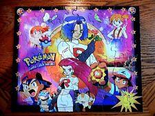 MB Pokemon Team Rocket 60 Piece Jigsaw Puzzle Guaranteed Complete 1999