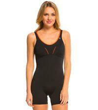 Women's Aquasphere Louisa Black Coral Swimsuit UK 40