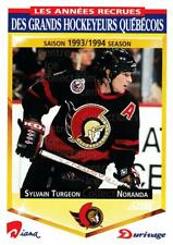 1993-94 Durivage Score #36 Sylvain Turgeon