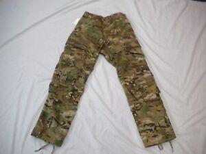 US ARMY MULTICAM  ARMY COMBAT PANTS W/ KNEE PADS SLOTS MEDIUM SHORT