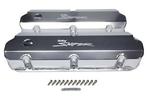 HOLLEY Sniper Fabricated Valve Covers  SBF Tall P/N - 890011