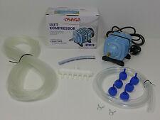 Osaga LK-35 Teich-Belüfter-Pumpe Sauerstoffpumpe Luft-Kompressor Ausströmer Set