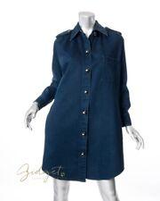 Lanvin X Acne Paris Size 36 / 6 Blue Denim Shirt Dress