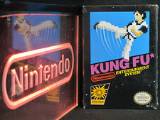 Nintendo NES Kung Fu Brand New in Original Black Box NIB Factory Sealed RARE
