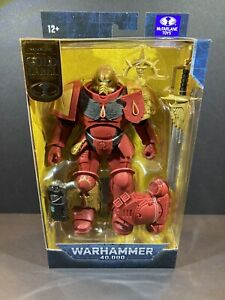 McFarlane Gold Label Warhammer 40K Blood Angels Primaris Lieutenant- New In Box!
