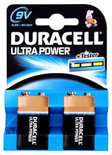 Duracell Ultra Power 9-Volt LR60 Alkaline Batteries MX1604