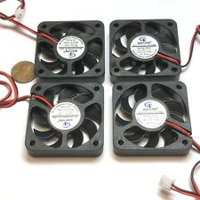 4 Pieces 5010 24V fan 50mm 5cm Extruder Cooling Heatsink Gdstime 3d printer C21