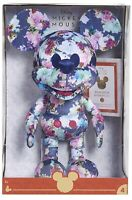 Disney Mickey Mouse Floral Plush April 2020 Year Of The Mouse NEW in Box