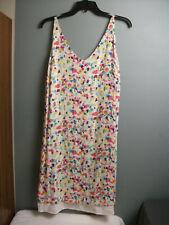 Cabi Dress #321 - Sleeveless - Multi-colors - Adj Straps - Sz M - 125 e ck