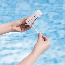 More details for 3 in 1 bestway lazy spa pool water test strips chlorine ph alkalinity 50 strips