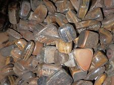 Tumbled Tiger's Eye Stone Ordinary Grade 40 to 90 gram pieces 180 gram Lot