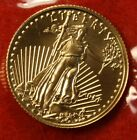 2014 AMERICAN GOLD EAGLE 1/10 oz .917% FINE GOLD BU GREAT COLLECTOR COIN GIFT