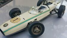 VINTAGE BMW SCHUCO FORMULA N1 WIND UP TOY RACE CAR 1072 D.B.G.M GERMANY GDR DDR