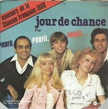 45  TOURS  2 TITRES / PROFIL  CONCOURS DE LA CHANSON FRANCAISE 1980     B4